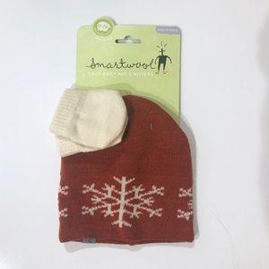 NWT Smartwool Beanie Hat & Mitten Set 12-24